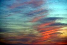 Beautiful Dramatic Sky At Sunset