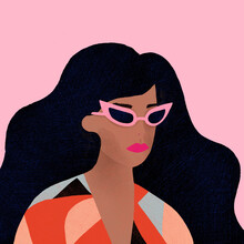 Women Portrait Illustrations Digital Paintings