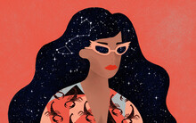 Zodiac Signs And Horoscope Editorial Illustrations