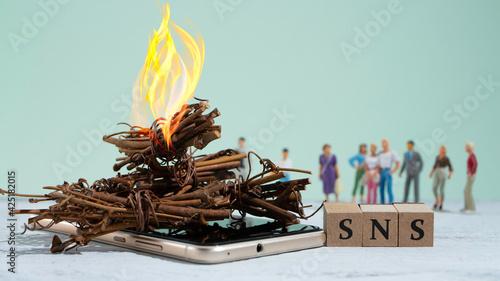 Fotografia SNSの炎上と周囲からのつるし上げ