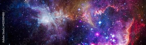 Obraz na plátně Deep space