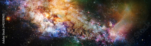 Fotografie, Obraz High quality space background