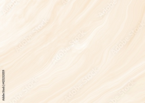 Fototapeta Background of yellow pastel waves texture, liquid marble effect wallpaper. obraz