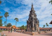 Wat Phra That Ing Hang, The Priceless Relic Of Laos In Savannakhet, Laos