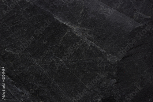 Black marble natural pattern for background, abstract natural - fototapety na wymiar