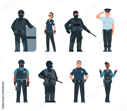Photo Police officers