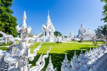 Wat Rong Khun, Aka The White Temple, Thailand.