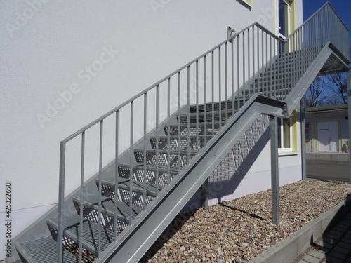 Treppenaufgang Fototapet