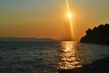 Fototapeta Fototapety z morzem do Twojej sypialni - Chorwacja Makarska zachód słońca