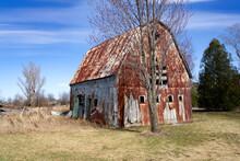 An Old Decrepit Barn