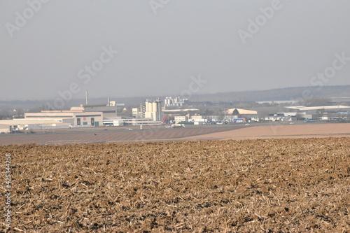 Canvas Print Arques - Pas-de-Calais - les usines verrières
