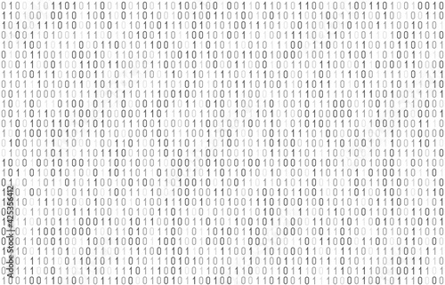 Papel de parede Binary computer code seamless pattern