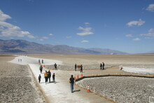 Badwater Lowest Point In America Death Valley