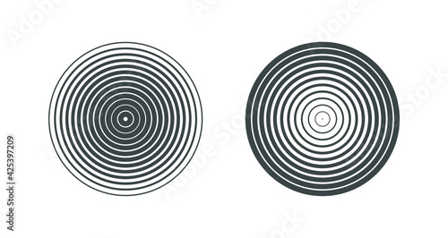 Obraz abstract,line,circle,stripe,stripes,striped,radial,gradient,halftone,vector,black,white,pattern,geometric,background,concept,sign,coil,repellent,swirl,object,spiral - fototapety do salonu