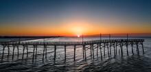 Sunset Beach Sunrise North Carolina