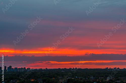 Fototapeta premium Sunset