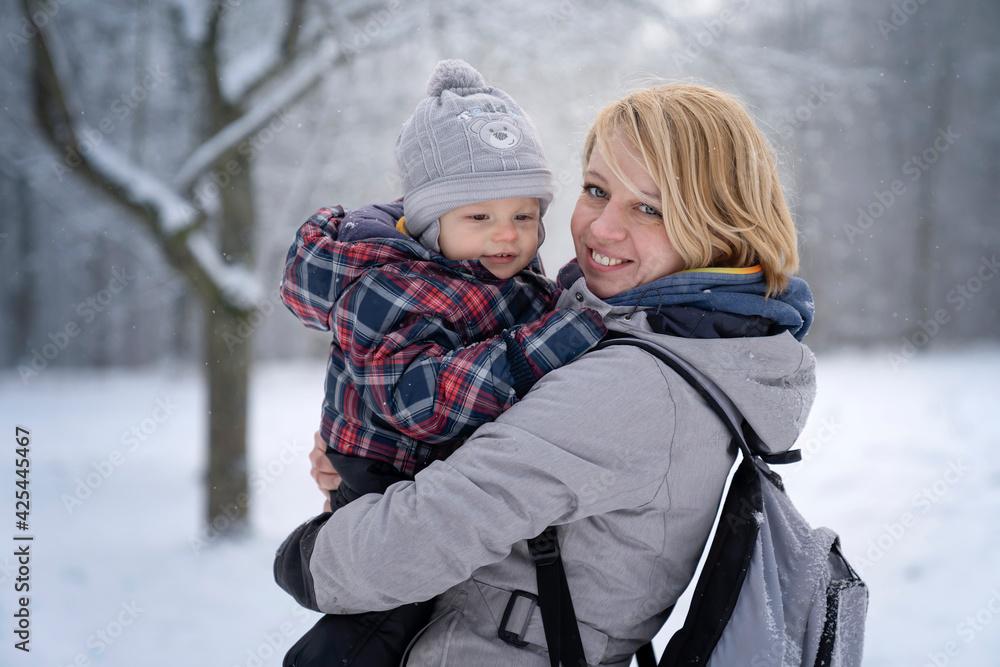 Fototapeta parent and child