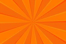 水玉ドットと放射線背景 Radial Abstract Background Ray With Polka Dot