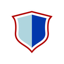 Shield Vector Design Isolated Icon Logo