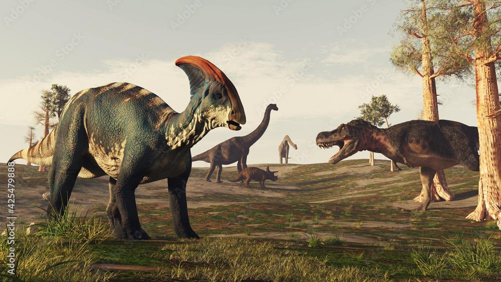 Fotografie, Obraz Jurassic dino