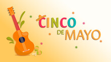 Cinco De Mayo Banner And Background Design