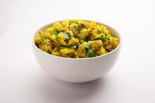 Aloo Ka Bharta Or Chokha Or Sabzi Made Using Mashed Potatoes With Spices