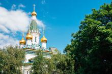 Russian Church Sveti Nikolay Mirlikiiski In Sofia, Bulgaria