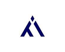Ti IT Letter Logo Design Vector Template