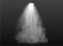Warm Light Set Of Bulb On A Transparent Background. Vector Illustration