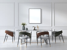 Dining Room With Table