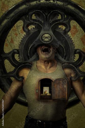 Obraz na plátně Greed
