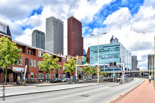 Stampa su Tela The Hague, beautiful city behind the dunes and located by the sea