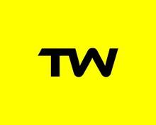 TW WT Letter Logo Design Vector Template