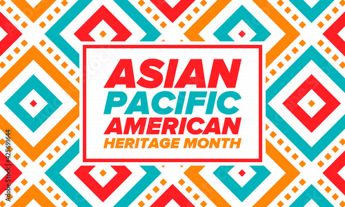 Fotografie, Obraz Asian Pacific American Heritage Month