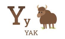 Yak Abc Letter