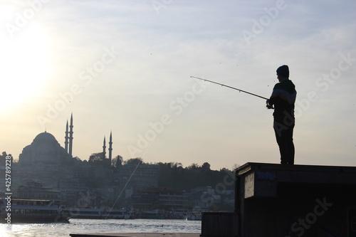 Fototapeta fisherman obraz