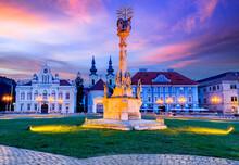 Timisoara, Romania - Union Square In Banat