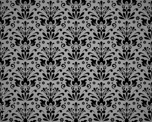 Wallpaper in the style of Baroque Wallpaper Mural
