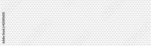 Fotografie, Obraz Abstract white perforated background with many holes - Vector