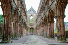 Arches In Ruins Of Abbey
