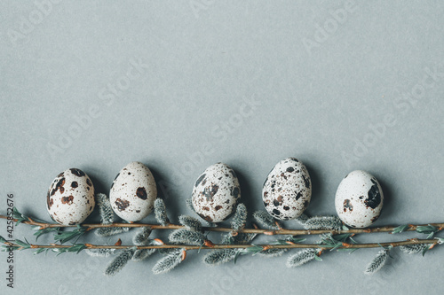 Fototapeta Kolorowe jajka na Wielkanoc obraz