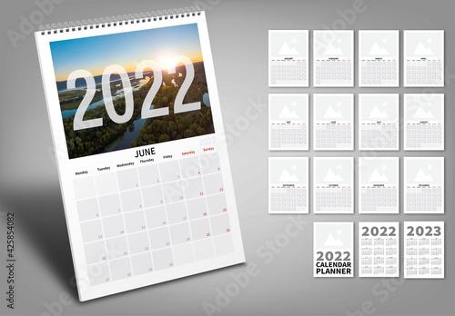 2022 Calendar Wall Planner