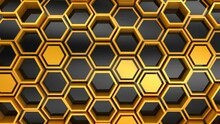 Background Of Hexagons