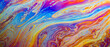 colorful soap bubble background