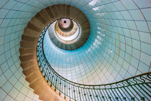 High Lighthouse Stairs, Vierge Island, Brittany,france