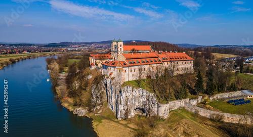 Fototapeta Klasztor w Tyńcu koło Krakowa obraz