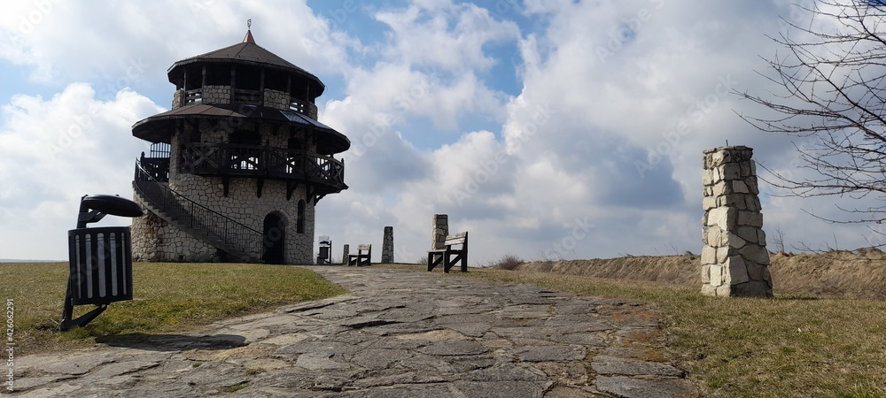 Fototapeta Piękny krajobraz punkt widokowy Lubelszczyzna Susiec