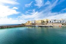 Old Town And Harbor Of Gallipoli, Lecce Province, Salento, Apulia, Italy