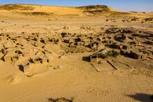 Aerials Of The Salt Mines Of Fachi, Tenere Desert, Niger, West Africa