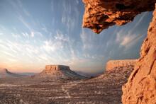 Damaraland Rock Formations At Sunrise, Namibia